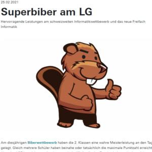 Superbiber am LG